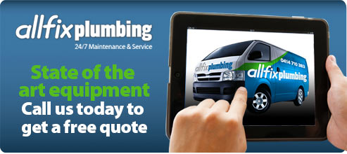 All Fix Plumbing Brisbane can supply and install all of your plumbing needs.