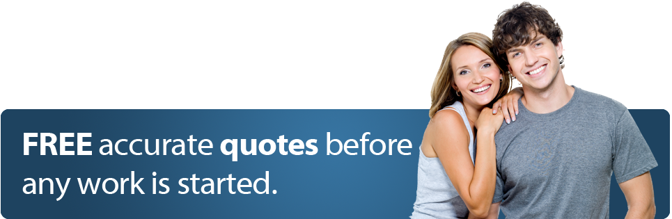 FREE accurate quotes before any work is started
